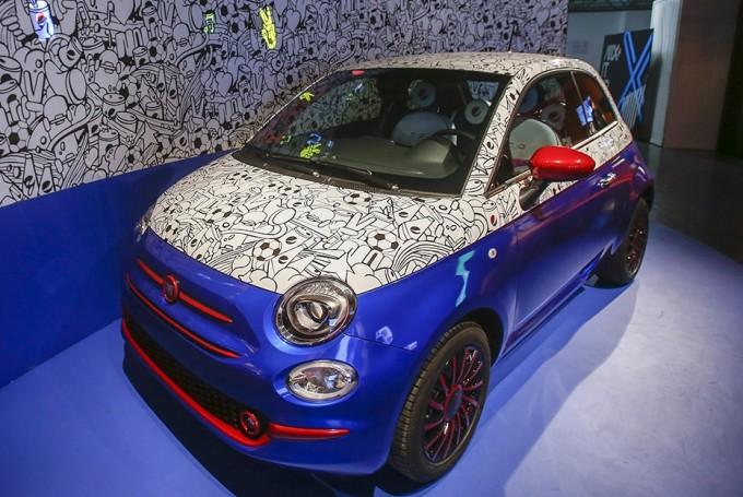 FIAT 500 by PEPSI -Día Mundial del Arte