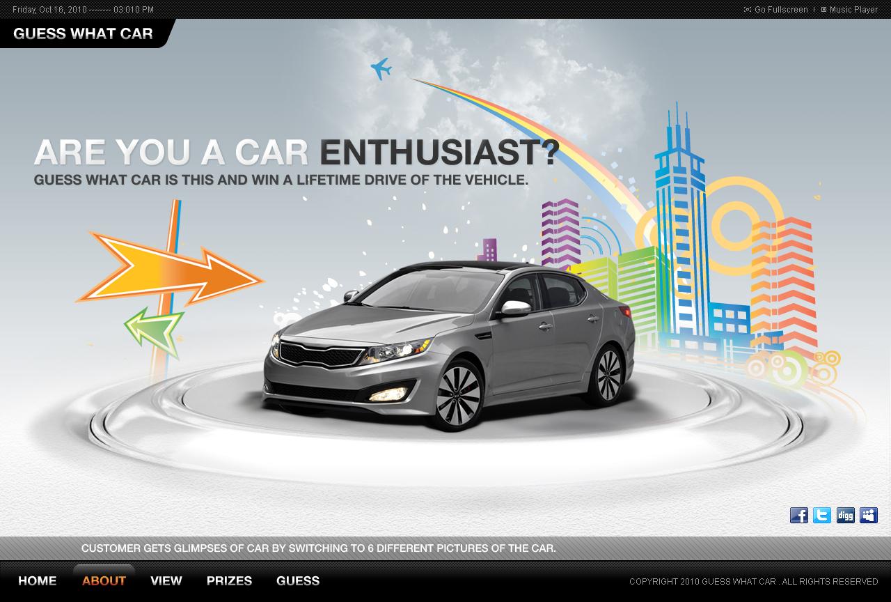 CAR WEB FLASH- DISEÑO
