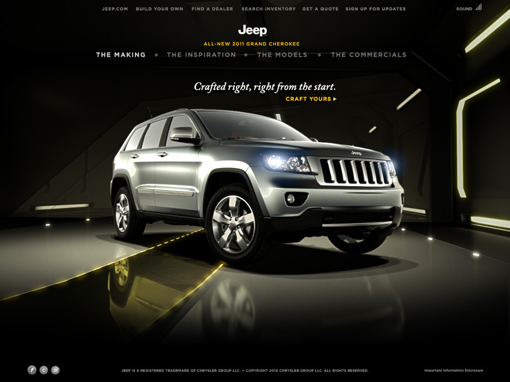 web jeep - DISEÑO
