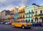 Almendrones cubanos en La Habana