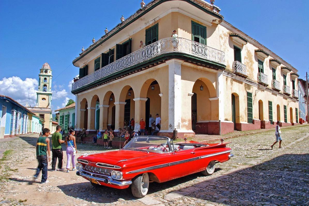 Almendrones. Cuba.